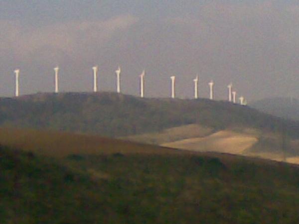 Windmills at Alto del Perdon