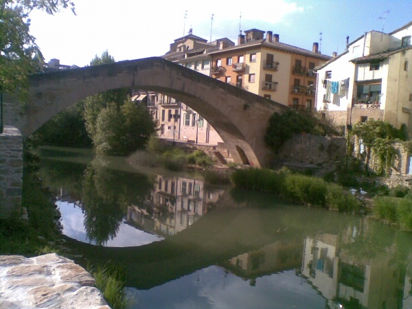 Pilgrims' Bridge at Estella