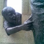 Statue in Negreira