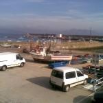 Port at Fisterra