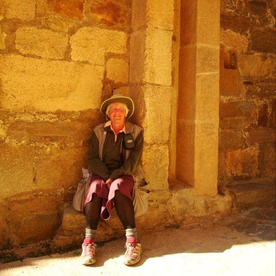 Me in Ponferado Castle