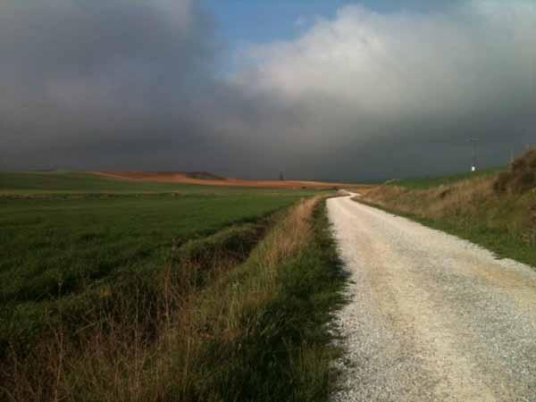 le chemin, le meseta