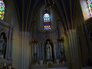 Interier, Chapelle de Levaud