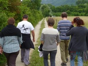 A postprandial stroll