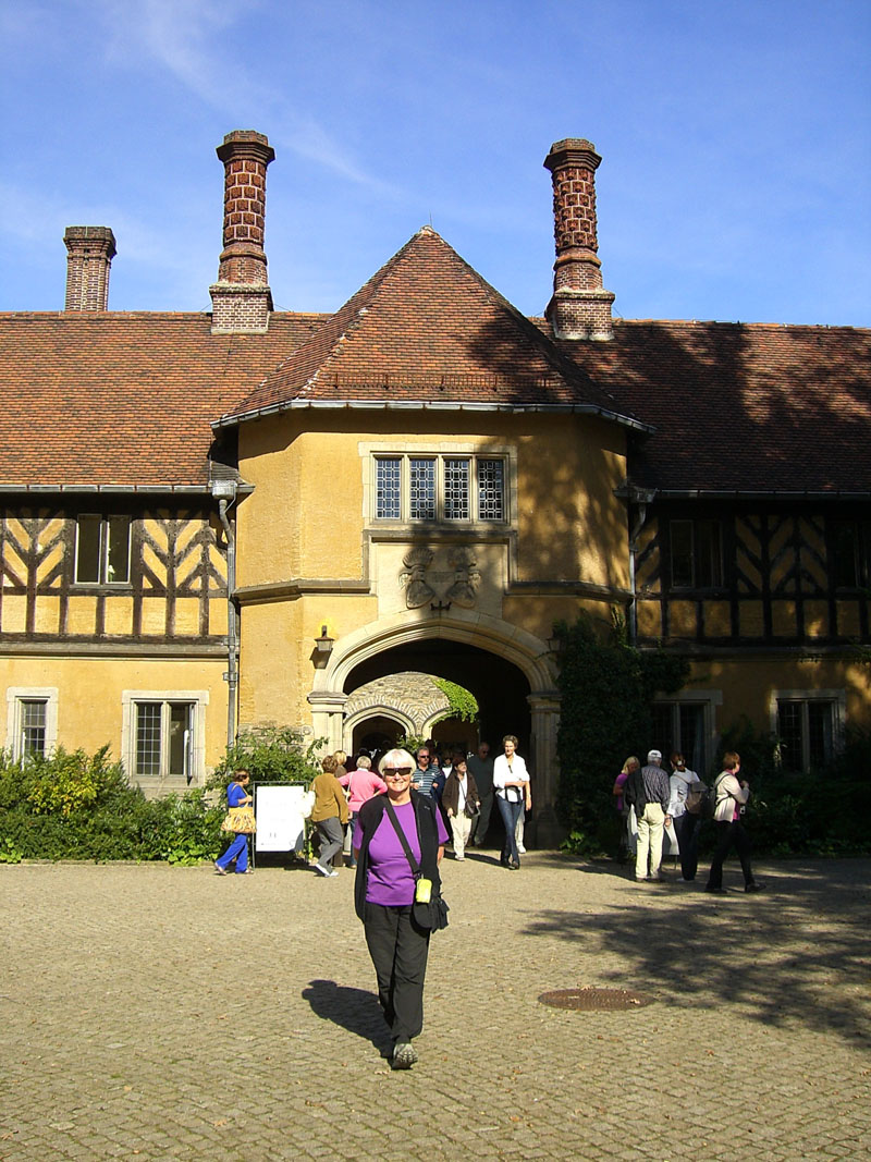 Me at Cecilienhof, site of the Potsdam Conference