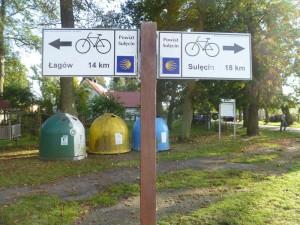 Camino waymarks